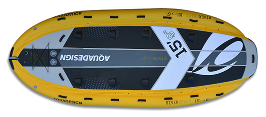 Vista del detalle de Kayaks  Sup Rivercraft 15